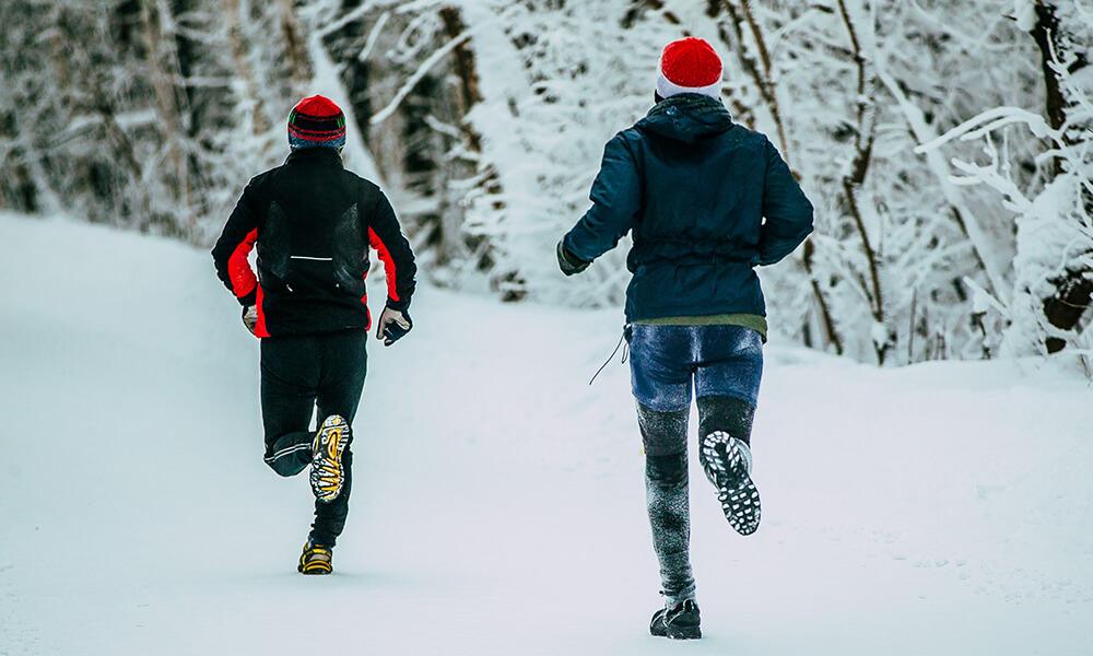 Joggen bei Kälte – Ein heißer Lauf bei eisigen Temperaturen